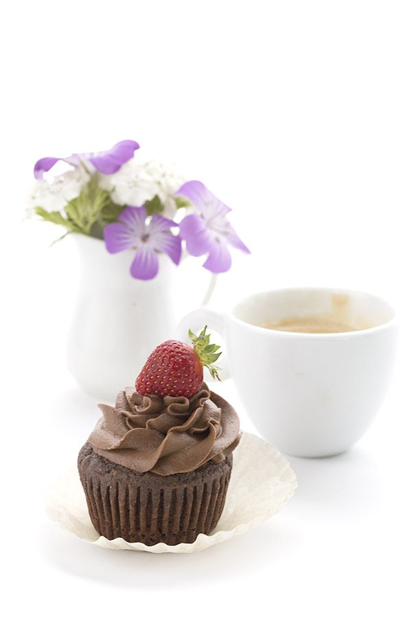 These are the best low carb chocolate cupcakes! You won't know they are sugar-free and gluten-free.