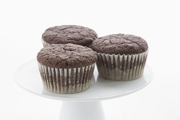 Easy coconut flour chocolate cupcake recipe