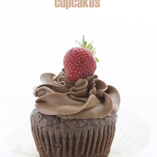 Best Keto Chocolate Cupcake Recipe. Made with coconut flour!