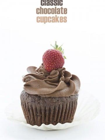 Best Keto Chocolate Cupcake Recipe. Made with coconut flour!