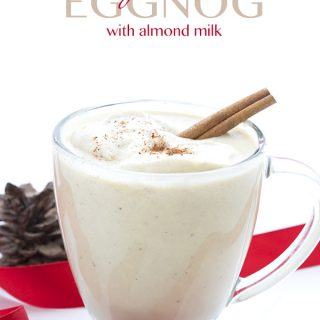 Low Carb Keto Eggnog Recipe. Can be made dairy-free!