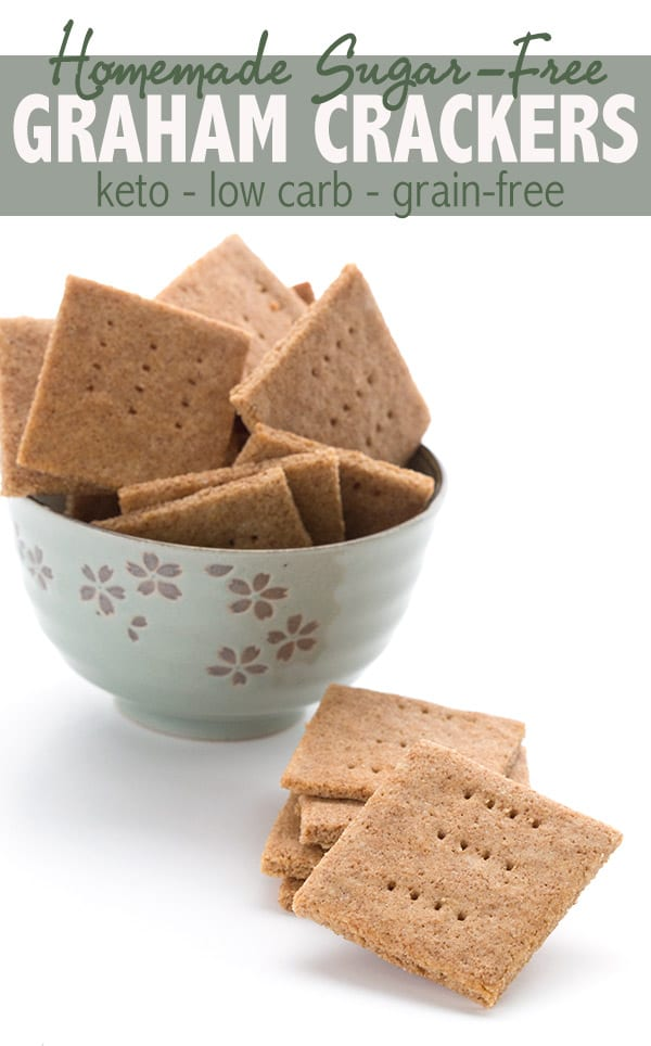 The best low carb graham crackers recipe!