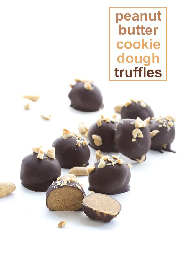 Seriously delicious! Low Carb Keto Peanut Butter Cookie Dough Truffles. LCHF Banting Grain-free recipe.