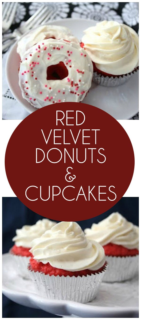 Low carb grain-free red velvet donuts and cupcakes recipe