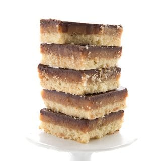 Low Carb Tagalong Bars
