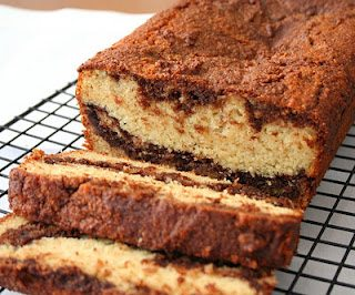 Low Carb Nutella Swirl Bread