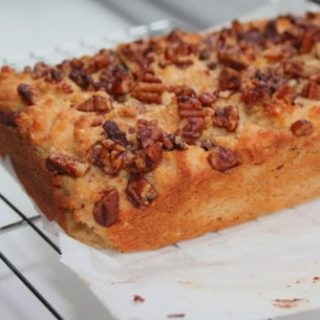 Cinnamon Pecan Streusel Bread (Low Carb and Gluten Free)