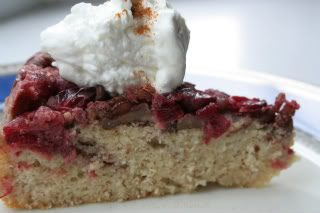 Cranberry Upside Down Cake (Low Carb) – Martha Stewart gets a low-carb makeover!