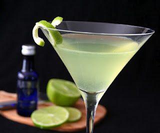 Lime Cardamom Martini
