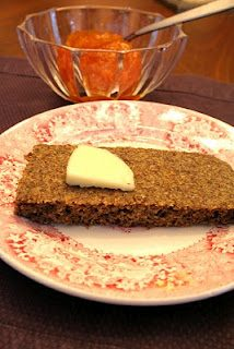 """Flax Seed """"Foccacia"""" Bread (Low Carb and Gluten Free)"""