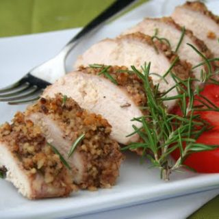Walnut Rosemary Crusted Chicken (Low Carb and Gluten Free)