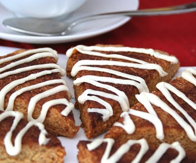 Cinnamon Roll Scones (Low Carb and Gluten Free) | All Day I Dream ...