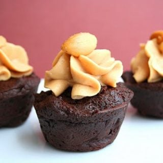 Peanut Butter Brownie Bites (Low Carb and Gluten Free)