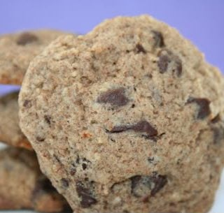 Buckwheat Chocolate Chip Cookies (Low Carb and Gluten Free)