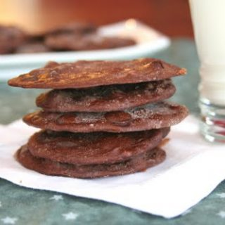 Moonscape Chocolate Cookies (Low Carb and Gluten Free)