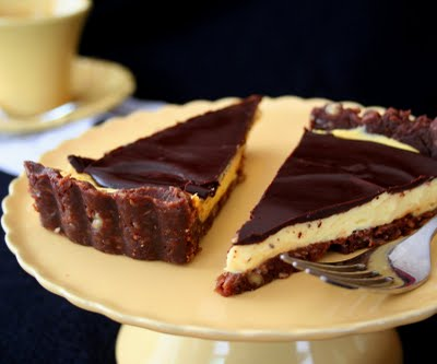Low Carb Nanaimo Bar Tart