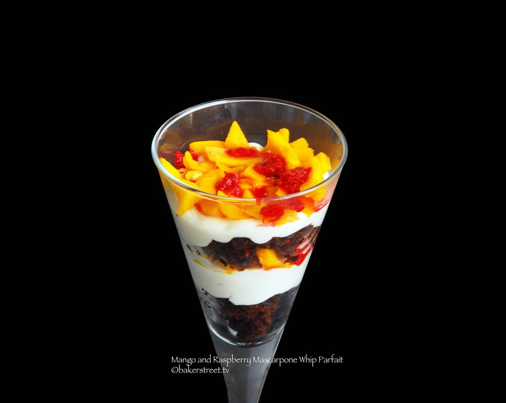 Mango and Raspberry Mascarpone Whip Parfait3