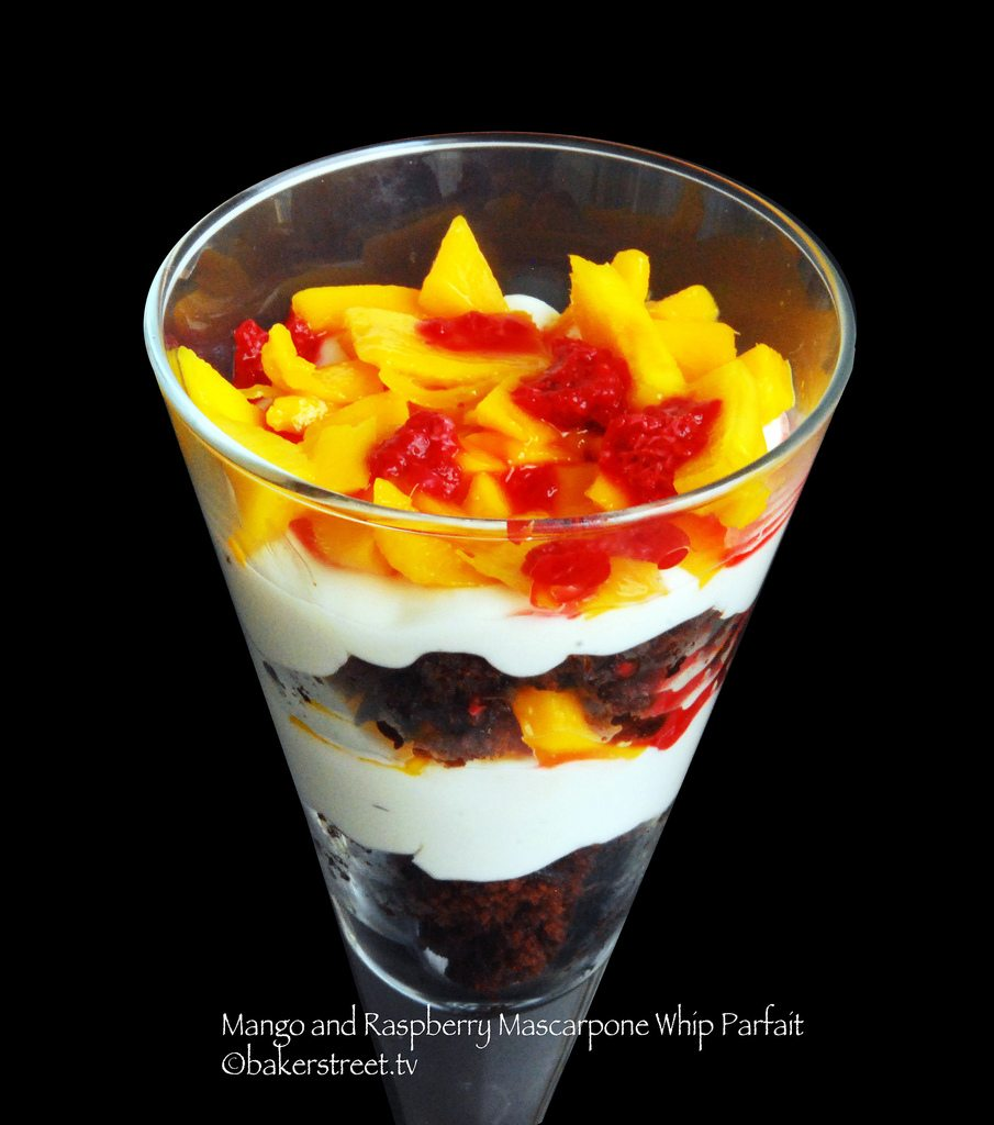 Mango and Raspberry Mascarpone Whip Parfait1