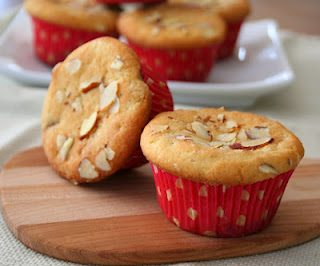 Almond Raspberry Jam Muffins (Low Carb and Gluten-Free)