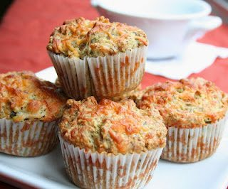 low carb cheddar jalapeño muffin recipe