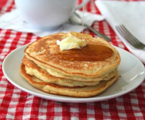 Low Carb Fluffy Coconut Flour Pancakes