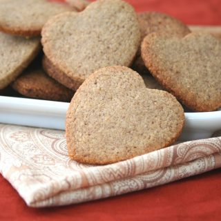 Low carb Homemade Biscoff Cookies also known as Speculoos
