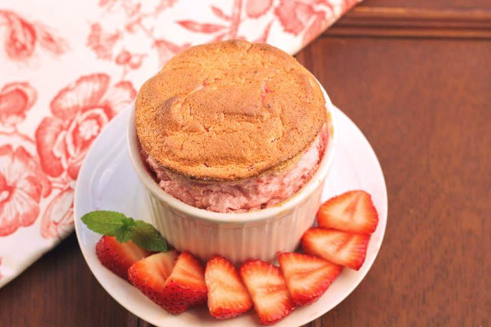 Strawberry Souffle Recipe | All Day I Dream About Food
