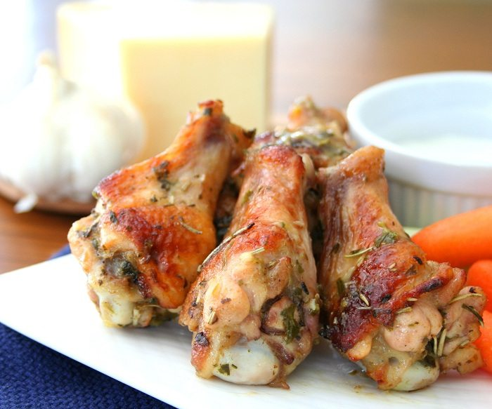 Parmesan Garlic Wing Recipe