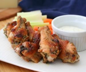 Garlic Parmesan Wing Recipe