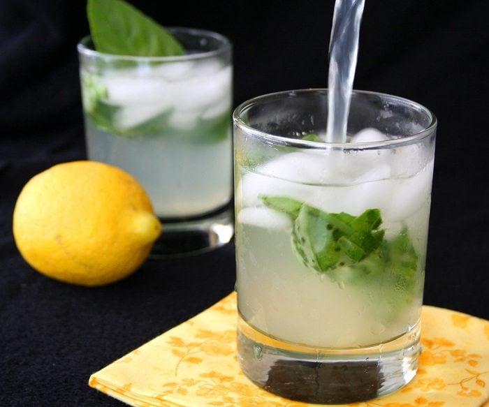 Low Carb Basil Lemonade Recipe