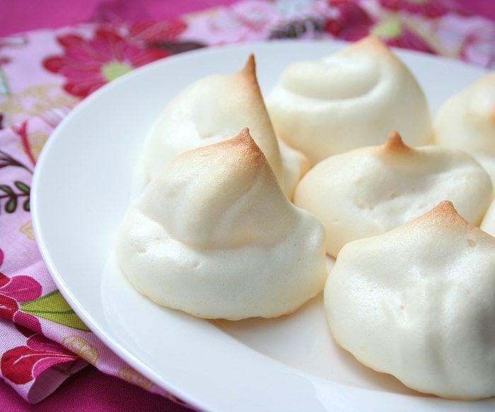 Sugar free meringue