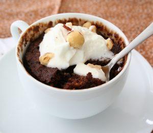Low Carb, Gluten-Free Mug Cake