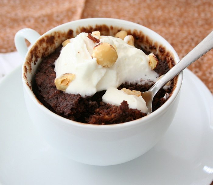 Low Carb Chocolate Mug Cake Recipe All Day I Dream About Food