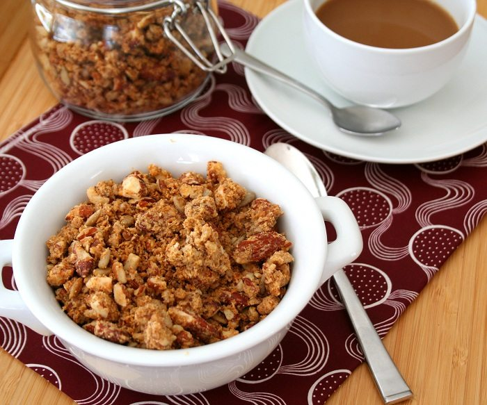 Grain Free Low Carb Granola