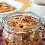 Best Low Carb Granola Recipe - grain-free LCHF Keto recipe.