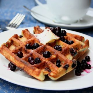 Low Carb Coconut Flour Waffles