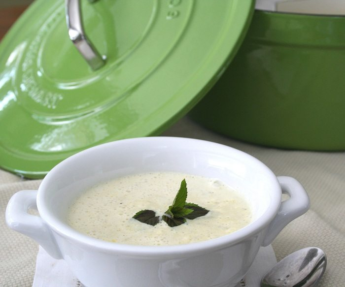 Chilled Zucchini Soup Recipe | All Day I Dream About Food