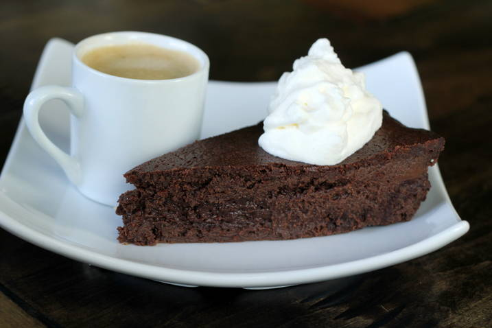 Low Carb Flourless Chocolate Torte Recipe | All Day I Dream About Food