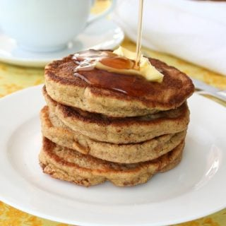 Walnut Flax Pancakes – Low Carb and Gluten-Free