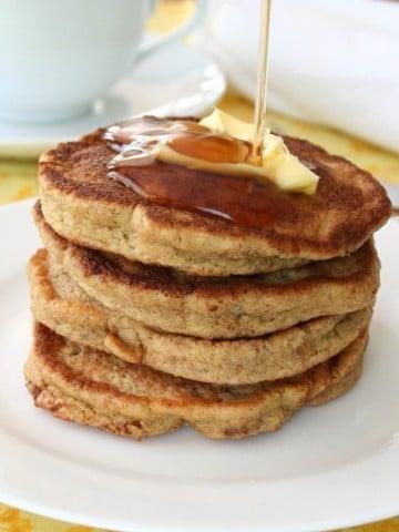 Low Carb Walnut Flax Pancakes