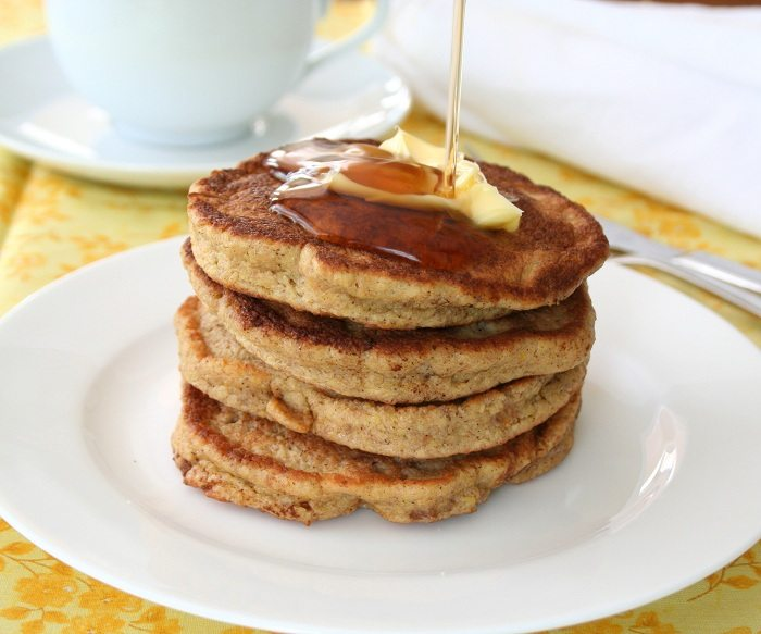 Low Carb Walnut Flax Pancakes