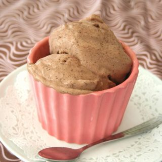 Egg-Free Chocolate Ice Cream – Low Carb, Gluten Free