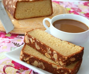 Almond Crusted Butter Cake