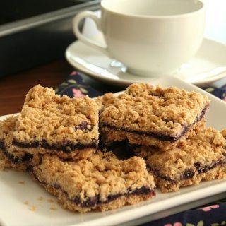 Blueberry Breakfast Bars – Gluten-Free, Sugar-Free Kids