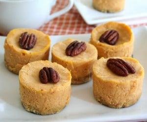 Mini Maple Pumpkin Cheesecakes 2
