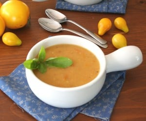 Roasted Golden Tomato Soup @dreamaboutfood