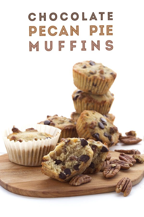 Low Carb Keto Chocolate Pecan Pie Muffins. You won't believe how good these are! Grain-free LCHF THM recipe