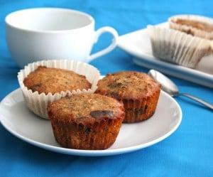 Chocolate Pecan Pie Muffins