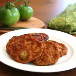 Low carb Fried Green Tomatoes