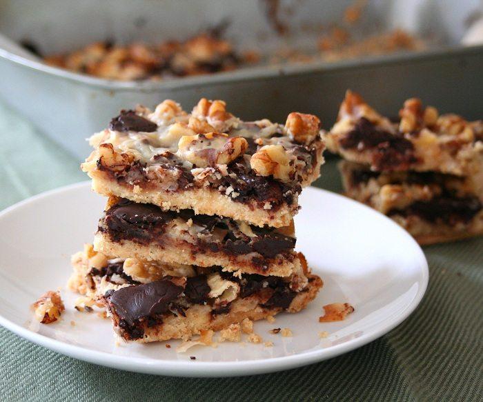 Low Carb Magic Cookie Bar Recipe